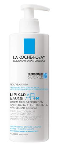 La Roche-Posay Lipikar Бальзам AP+м ліпідовідновлюючий для дуже сухої шкіри 400 мл 1 флакон