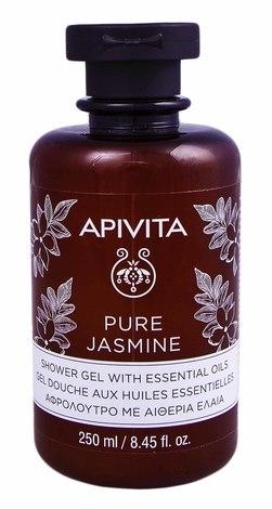 """Apivita Гель для душу з ефірними оліями """"Натуральний жасмин"""" 250 мл 1 флакон"""