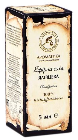 Ароматика Олія ефірна ялівцева 5 мл 1 флакон