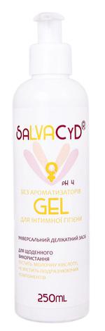 Salvacyd Гель для інтимної гігієни без ароматизаторів 250 мл 1 флакон