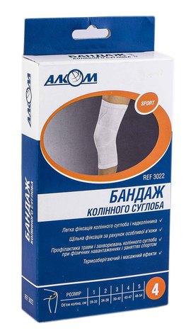Алком 3022 Бандаж колінного суглоба розмір 4 1 шт