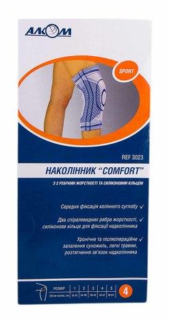 Алком 3023 Бандаж колінного суглоба Comfort розмір 4 1 шт