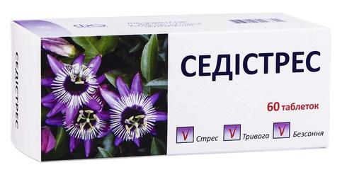 Седістрес таблетки 60 шт