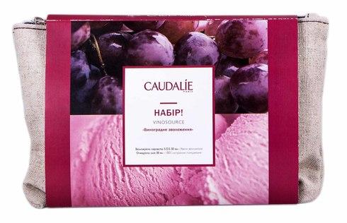 Caudalie Vinosource зволожуюча сироватка S.O.S 30 мл + очищуюча олія для зняття макіяжу 30 мл 1 набір