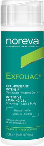 Noreva Exfoliac Гель очищуючий для проблемної жирної шкіри 200 мл 1 флакон