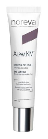 Noreva Alpha KM  Крем догляд реструктуруючий для контуру очей 10 мл 1 туба