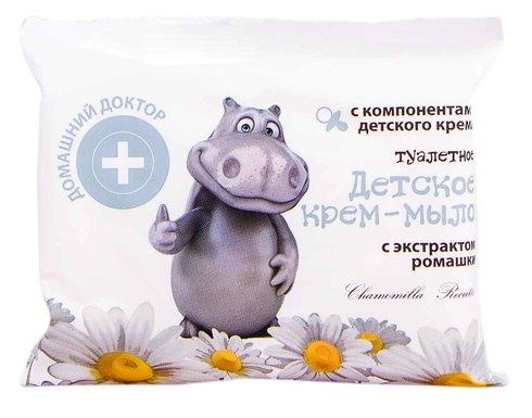 Домашній Доктор Крем-мило дитяче з екстрактом Ромашки 70 г 1 шт