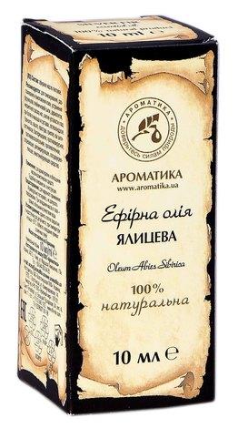 Ароматика Олія ефірна ялицева 10 мл 1 флакон
