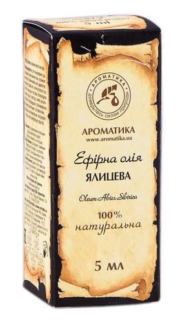 Ароматика Олія ефірна ялицева 5 мл 1 флакон