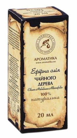 Ароматика Олія ефірна чайного дерева 20 мл 1 флакон