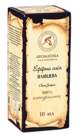 Ароматика Олія ефірна ялівцева 10 мл 1 флакон скляний