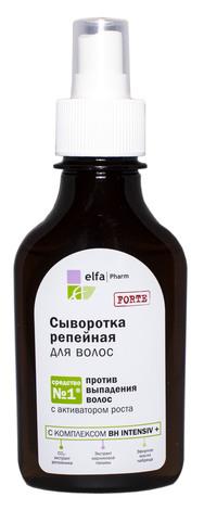 Elfa Сироватка реп`яхова проти випадіння волосся 100 мл 1 флакон