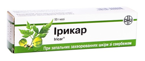 Ірикар мазь 50 г 1 туба