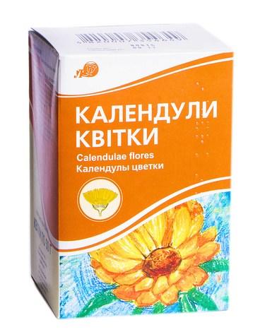 Лубнифарм Календули квітки 50 г 1 пачка