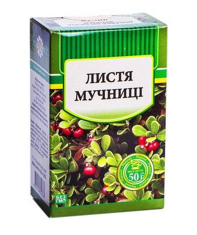 Фітосвіт Мучниці листя 50 г 1 пачка