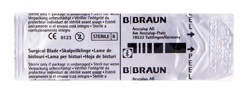 B.Braun  Лезо для скальпеля карбонове 21 1 шт