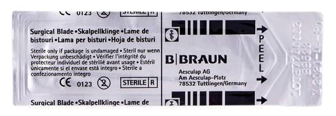 B.Braun  Лезо для скальпеля карбонове 23 1 шт