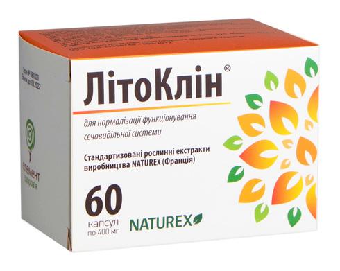 Літоклін капсули 60 шт