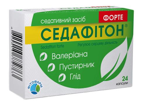 Седафітон Форте капсули 24 шт