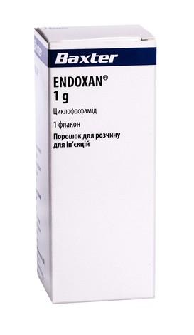 Ендоксан 1 г порошок для ін'єкцій 1 г 1 флакон