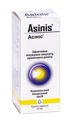 Асініс краплі оральні 50 мл 1 флакон