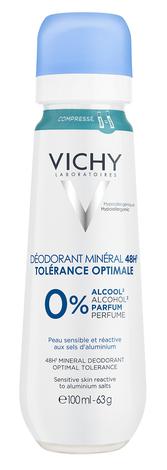 Vichy Дезодорант мінеральний для дуже чутливої шкіри 48 годин 100 мл 1 флакон