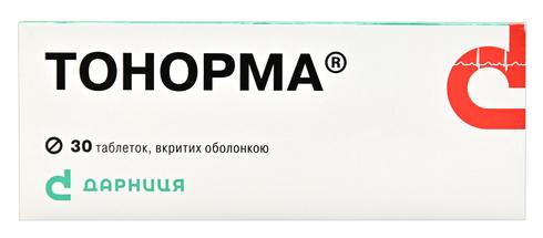 Тонорма таблетки 100 мг/25 мг/10 мг  30 шт