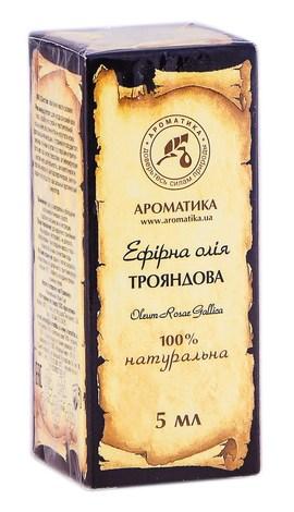 Ароматика Олія ефірна трояндова 5 мл 1 флакон