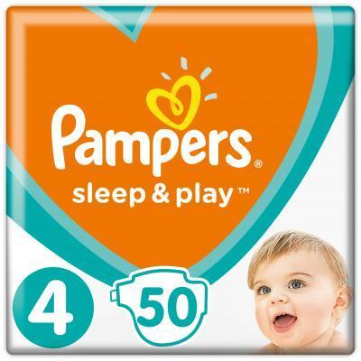 Pampers Sleep & Play 4 Maxi Підгузки дитячі 9-14 кг 50 шт