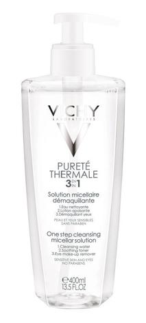 Vichy Purete Thermale Міцелярний розчин для зняття макіяжу 400 мл 1 флакон