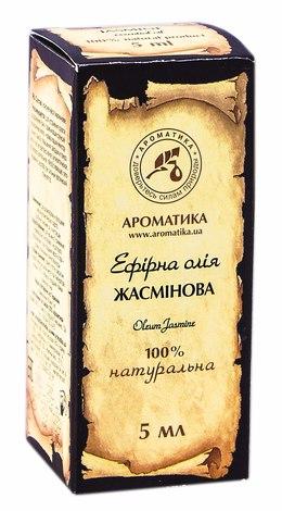 Ароматика Олія ефірна жасмінова 5 мл 1 флакон