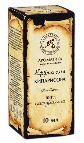 Ароматика Олія ефірна кипарисова 10 мл 1 флакон