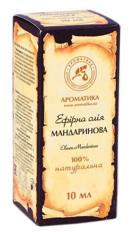 Ароматика Олія ефірна мандаринова 10 мл 1 флакон