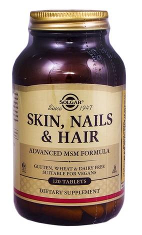 Solgar Таблетки для шкіри, нігтів та волосся таблетки 120 шт
