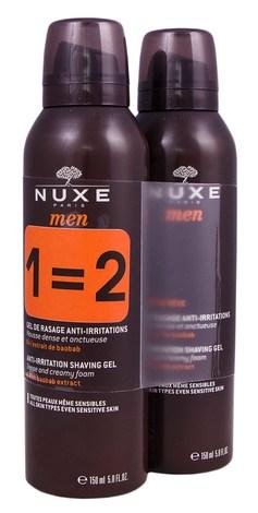 Nuxe Men Гель для гоління Дуо 2х150 мл 1 набір