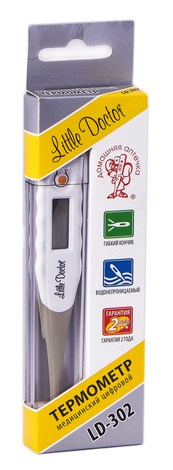 LD-302 Термометр електронний цифровий  1 шт