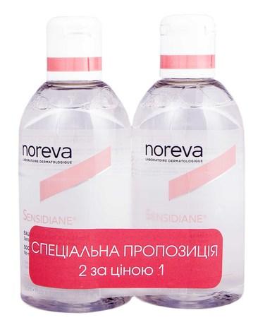 Noreva Sensidiane Вода міцелярна заспокійлива Дуо 2х250 мл 1 набір