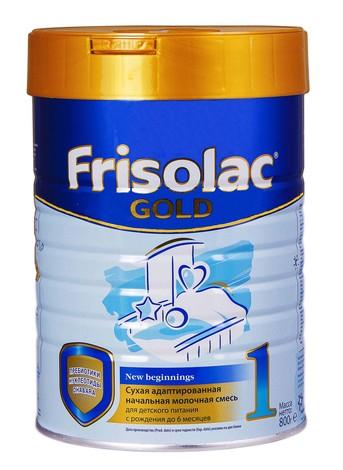 Friso 1 Фрісолак Gold Суміш молочна від 0 до 6 місяців 800 г 1 банка
