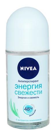 Nivea Антиперспірант Енергія свіжості 50 мл 1 флакон
