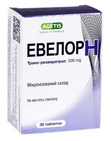 Евелор H таблетки 30 шт
