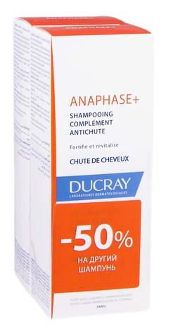Ducray Anaphase+ Шампунь проти випадіння волосся Дуо 2х200 мл 1 набір
