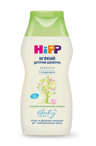 HiPP Babysanft Шампунь дитячий м'який 200 мл 1 флакон