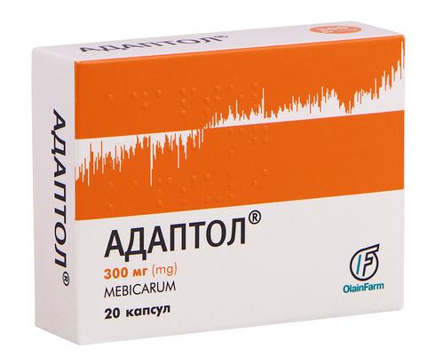 Адаптол капсули 300 мг 20 шт