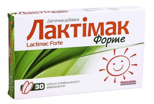 Лактімак Форте капсули 30 шт