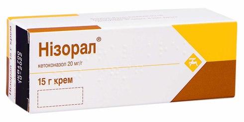 Нізорал крем 20 мг/г 15 г 1 туба