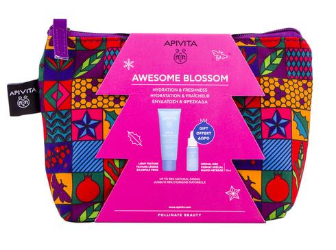 Apivita Aqua Beelicious Гель-крем легкий зволожуючий 40 мл + Сироватка-бустер освіжаюча зволожуюча 10 мл 1 набір
