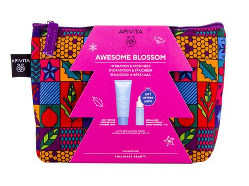 Apivita Aqua Beelicious Крем комфортний насиченої текстури 40 мл + Сироватка-бустер освіжаюча зволожуюча 30 мл 1 набір