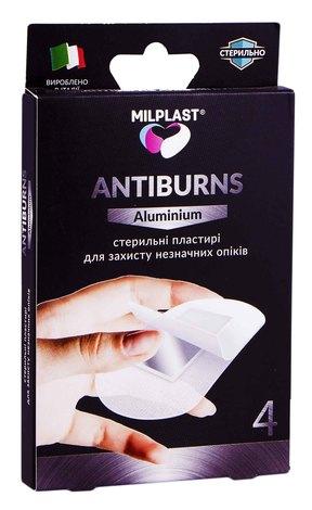 Milplast Пластир стерильний для захисту незначних опіків 4 шт