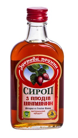 Здорова родина Сироп з плодів шипшини 200 мл 1 флакон