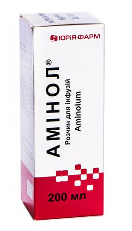 Амінол розчин для інфузій 200 мл 1 флакон